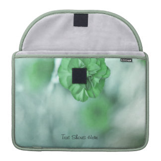 Tiny Green Flowers Personalized MacBook Pro Sleeve For MacBook Pro