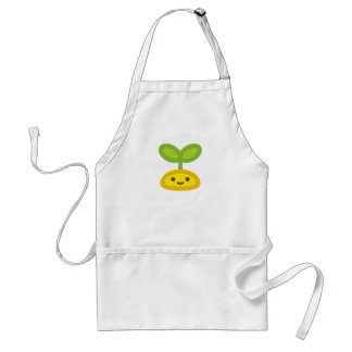 Tiny Green Sprout Apron