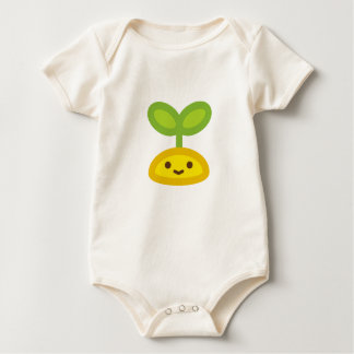 Tiny Green Sprout Baby Bodysuit