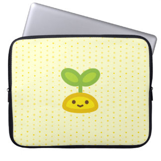 Tiny Green Sprout Laptop Sleeve