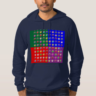 TINY HANDS Blessings GRAPHICS: ColorMANIA Artist Hoodie