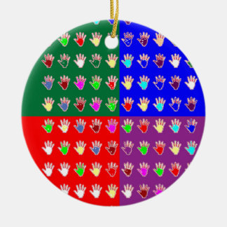 TINY HANDS Blessings GRAPHICS: ColorMANIA Artist Ornaments