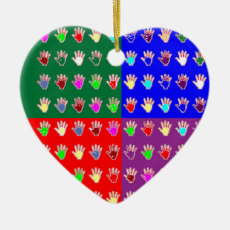 TINY HANDS Blessings GRAPHICS: ColorMANIA Artist Christmas Ornaments