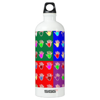 TINY HANDS Blessings GRAPHICS: ColorMANIA Artist Water Bottle