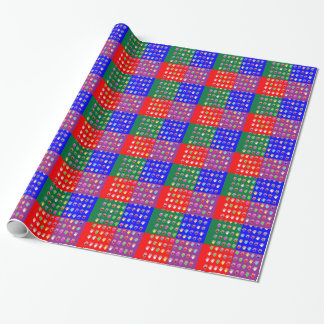 TINY HANDS Blessings GRAPHICS: ColorMANIA Artist Wrapping Paper