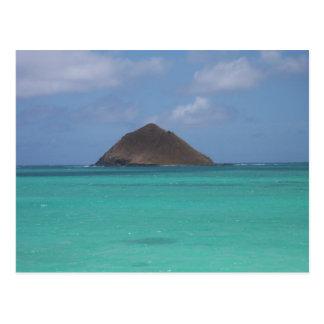 Tiny Hawaiian Island Postcard
