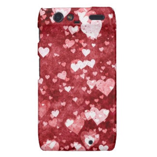 Tiny hearts case-mate case motorola droid RAZR covers