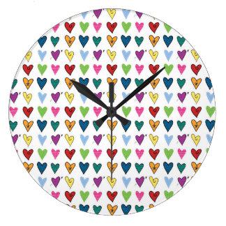 Tiny Hearts Clocks