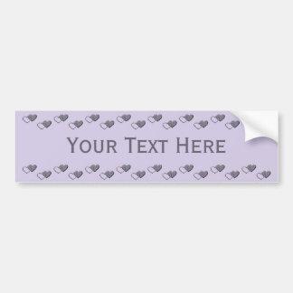 Tiny Hearts custom bumpersticker Bumper Sticker