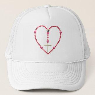 Tiny hearts Rosary Trucker Hat