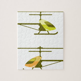 Tiny Helicopter Jigsaw Puzzle