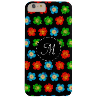 Tiny hibiscus pattern barely there iPhone 6 plus case
