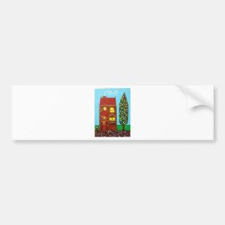 Tiny House Car Bumper Sticker