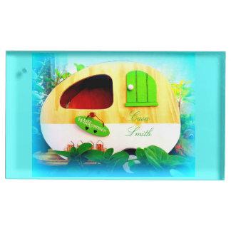 tiny house gypsy caravan place card holder