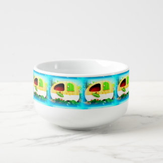 tiny house gypsy caravan soup mug
