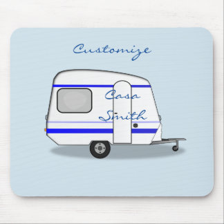 Tiny house streamlined caravan Thunder_Cove Mouse Pad