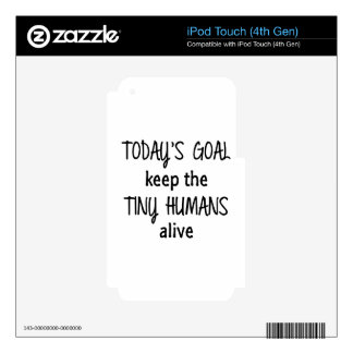 Tiny Humans Decal For iPod Touch 4G