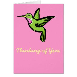 Tiny Hummingbird Cards