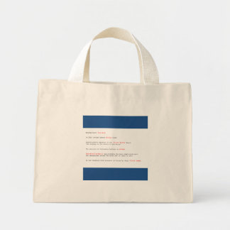 Tiny Iceland fun facts tote