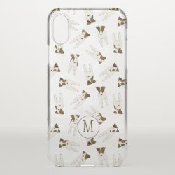 Uncommon iPhone XS Clearly™ Deflector Case with Jack Russell Terrier Phone Cases design