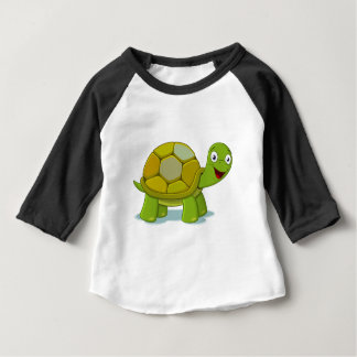 Tiny Kawaii Tortoise Baby T-Shirt