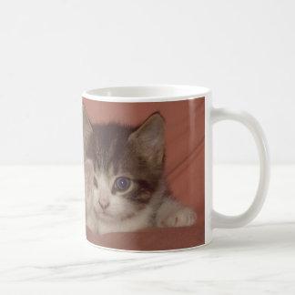 Tiny Kitties Classic White Coffee Mug