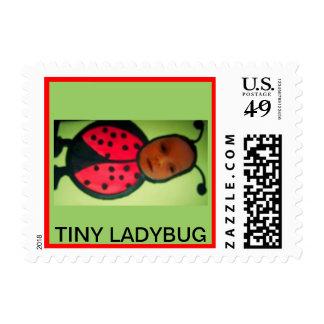 TINY LADYBUG POSTAGE