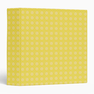 Tiny Lemon Slices Notebook Binder