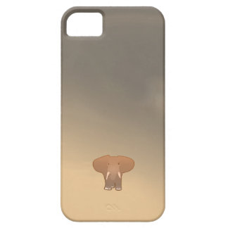 Tiny little elephant in Sahara iPhone SE/5/5s Case