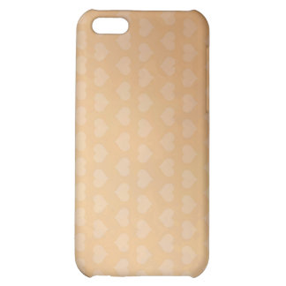 Tiny Little Hearts and White Pusssy Cat iPhone 5C Covers