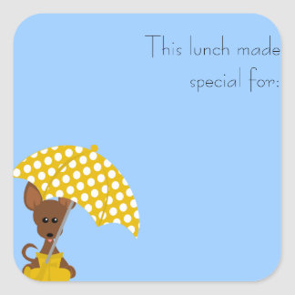 Tiny Lunch Sticker