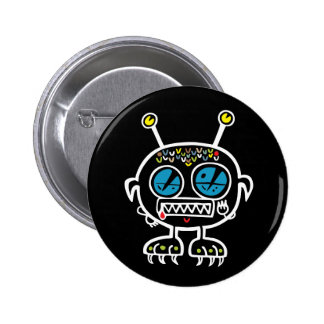 Tiny Monster 2 Inch Round Button