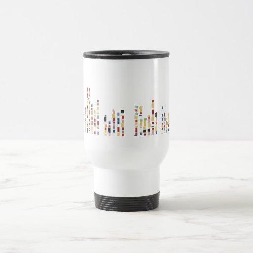 Tiny Monuments Commuter Mug