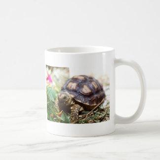 tiny classic white coffee mug