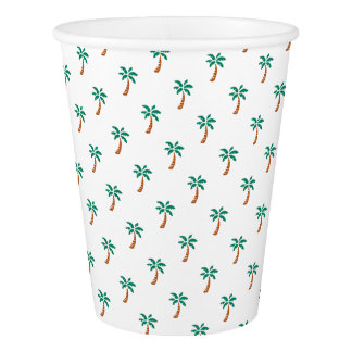 Tiny Palms Paper Cup