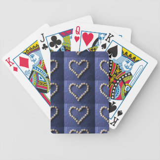 Tiny Pasta Stars Heart Shape Bicycle Playing Cards