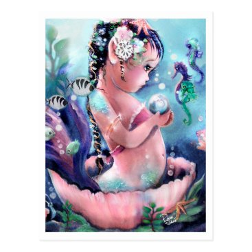 Toddler & Baby themed Tiny Pearl Hunter 2010 Postcard