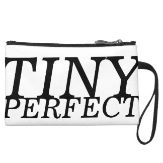 Tiny Perfect Clutch [with spraypaint design back] Wristlets