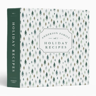Tiny Pines Holiday Recipe Binder