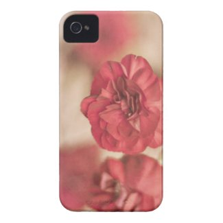 Tiny Pink Flower Floral Print iPhone 4G Case iPhone 4 Cover