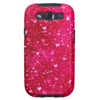 tiny Pink hearts Samsung Galaxy S II Case Samsung Galaxy S3 Case