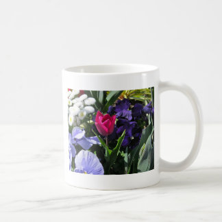 Tiny Pink Tulip Coffee Mug