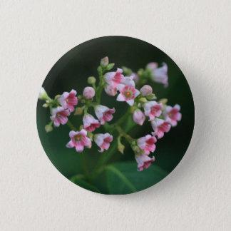 Tiny Pink Wildflowers Pinback Button
