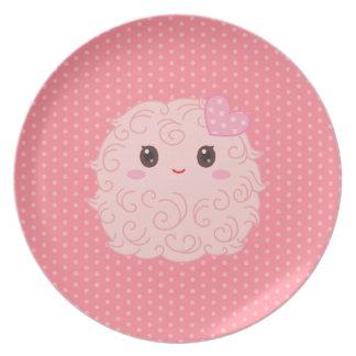 Tiny Pinky Thing Melamine Plate