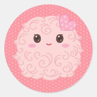 Tiny Pinky Thing Classic Round Sticker