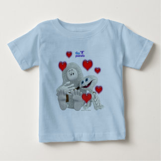 Tiny Planets All You need is Love Tshirts