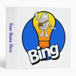 Tiny Planets BING!!! 3 Ring Binders
