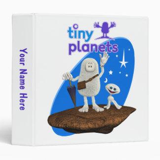 Tiny Planets Bing & Bong 3 Ring Binder