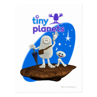 Tiny Planets Bing & Bong Postcard