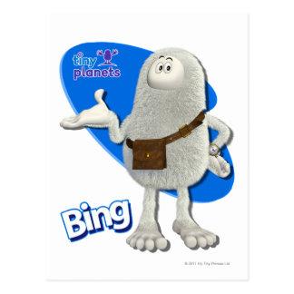 Tiny Planets Bing - Like that? Postcard